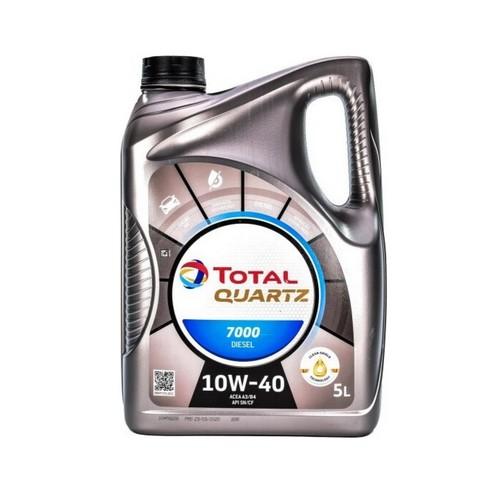 TOTAL Quartz Diesel 7000 10w40  5л грн