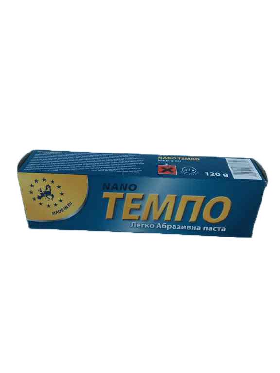 Полироль Темпо NANO 120г (синий)