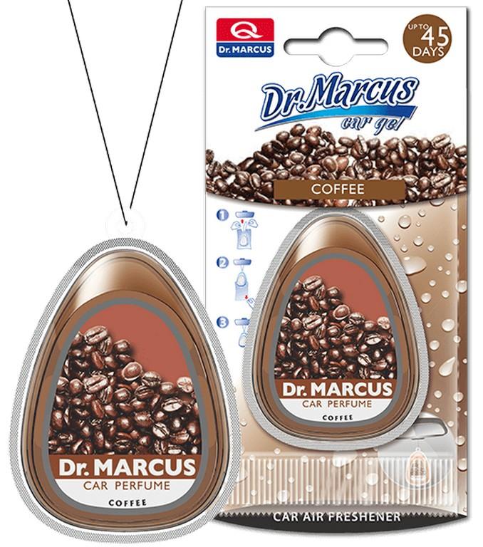 Пахучка Dr.Marcus «Car Gel» Coffe коробка на зеркало