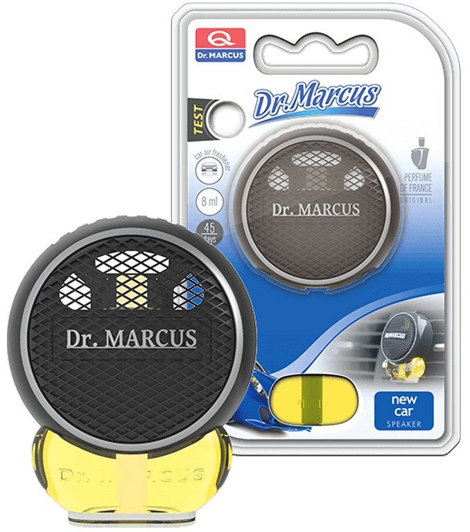 Пахучка Dr. Marcus SPEAKER Bialy New Car  8ml