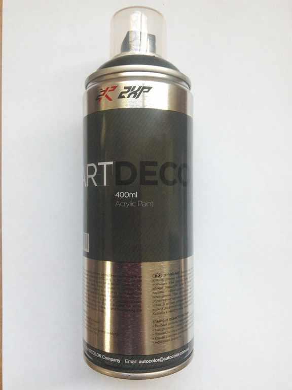 Краска аэр. ART DEKO  (белый глянец) (9010)
