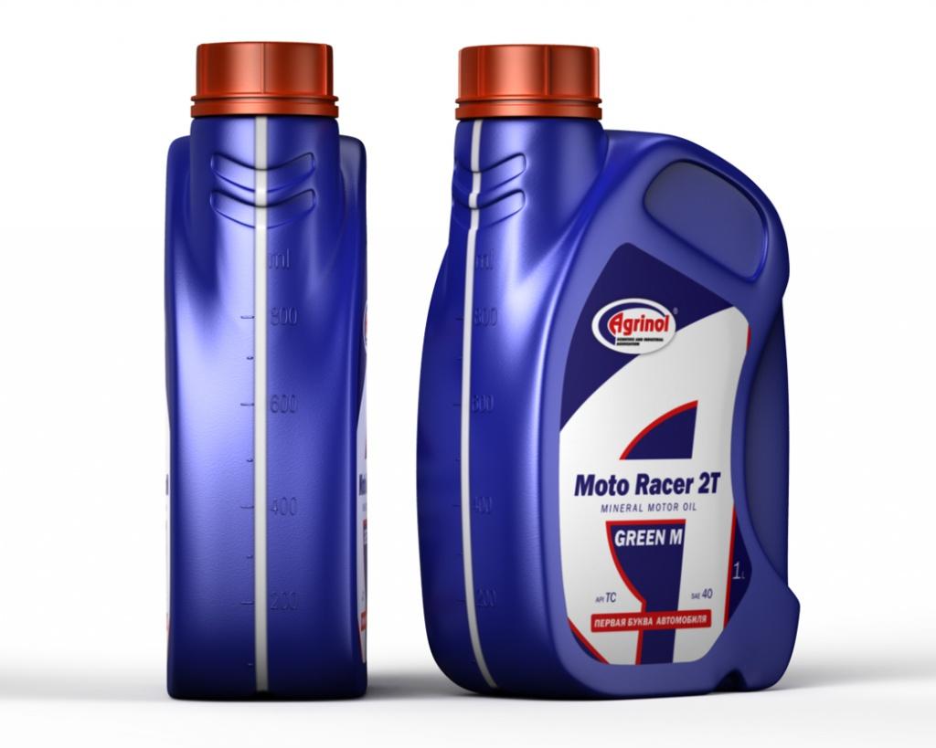 Масло Agrinol Moto  Racer 2T (Mineral) 1л