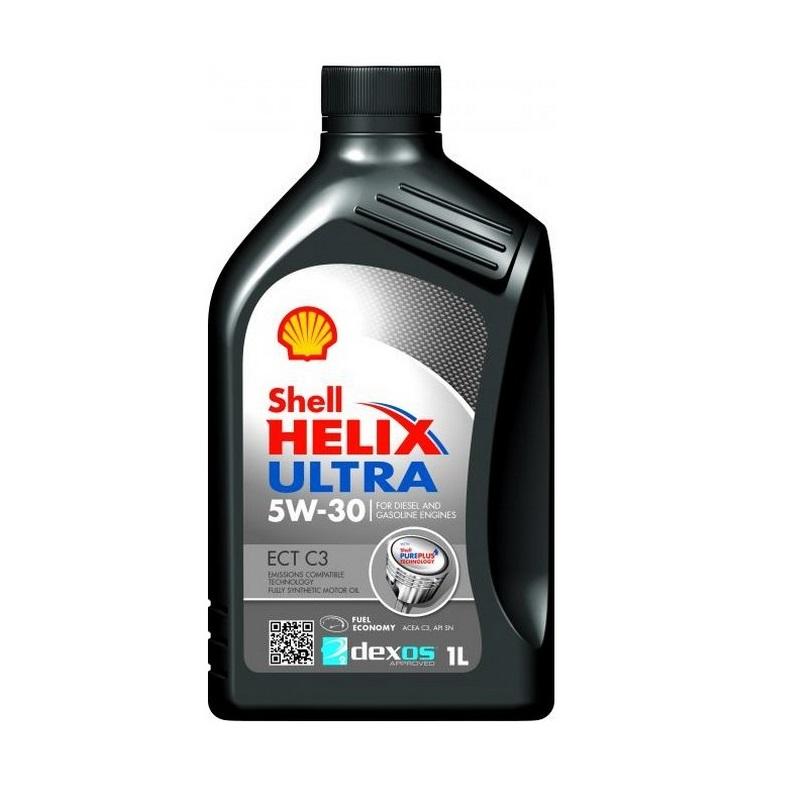 Shell Helix Ultra ECT C3  5w30  1л