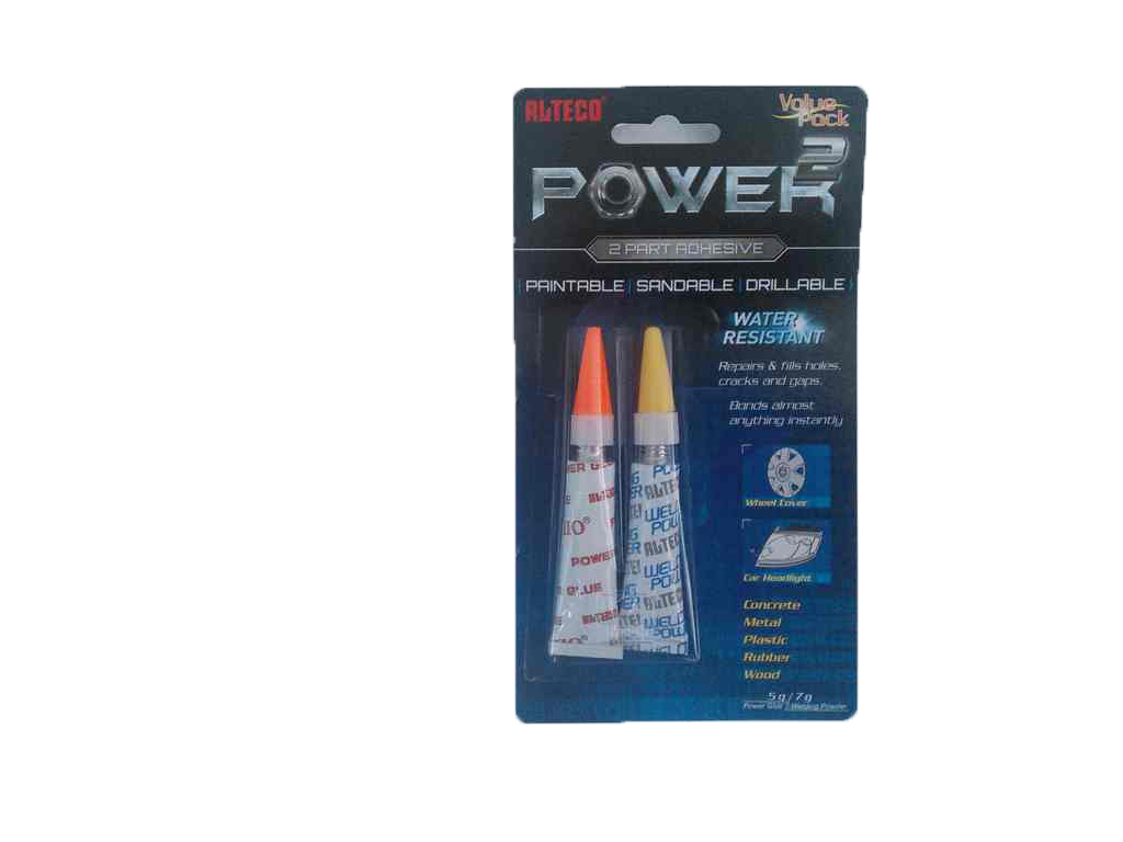 19902 ALTECO POWER 2 клей-порошок (5гр+7гр)