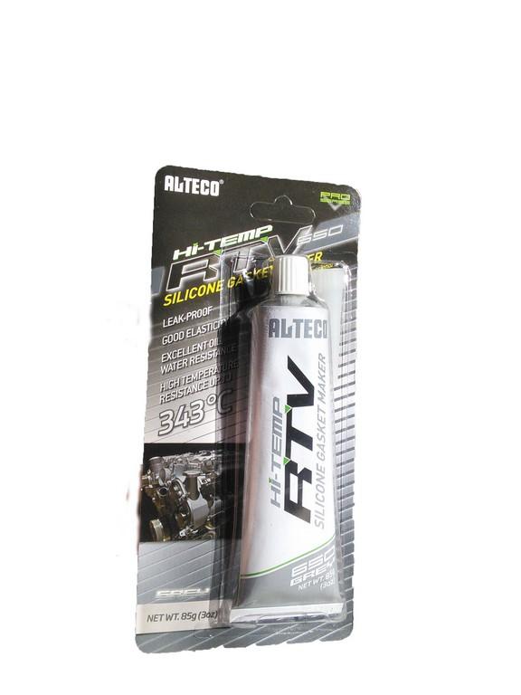 18963  ALTECO силиконовый клей-герметик 85гр серый
