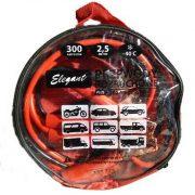 Провода-прикуриватели Elegant PLUS 300А 2.5м (в чехле)