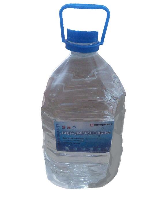 Вода дистил.  АВ  4,5л. ПЭТ