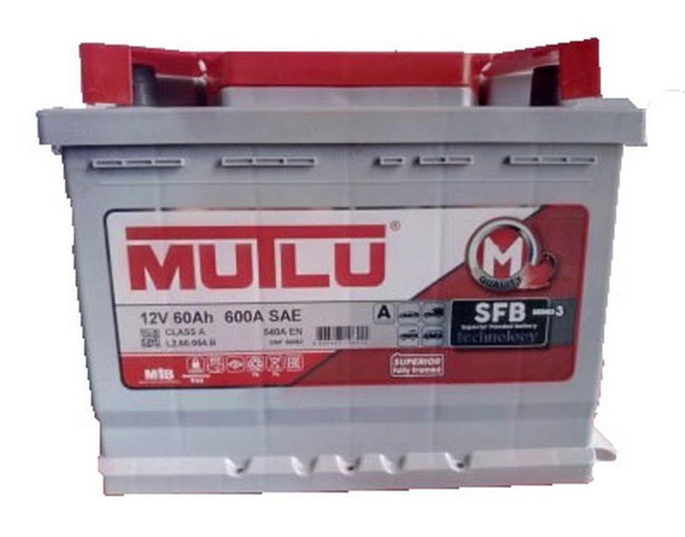 АКБ MUTLU  60Ач (600/540) стандарт