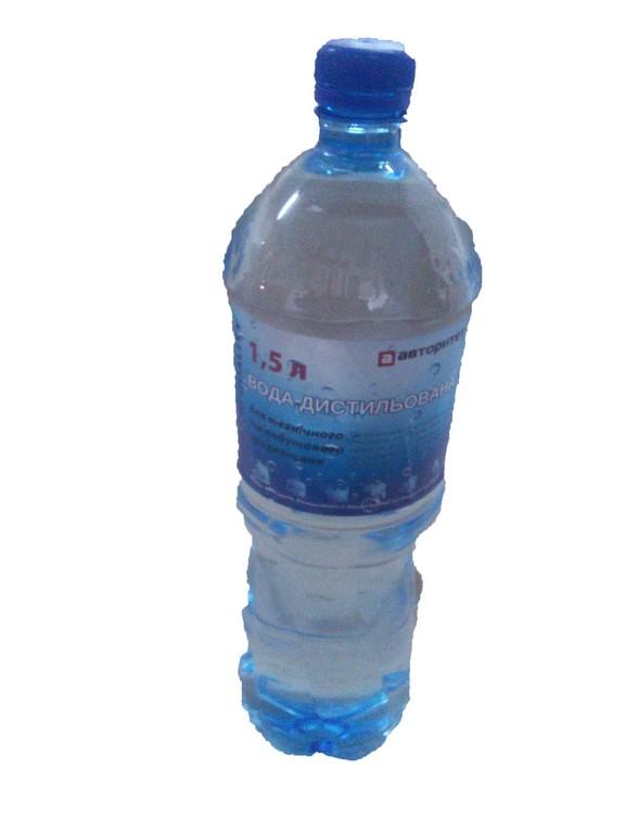 Вода дистил.  1.5л. АВ